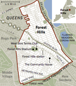 Queens Map New York