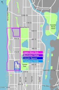UWS Map New York